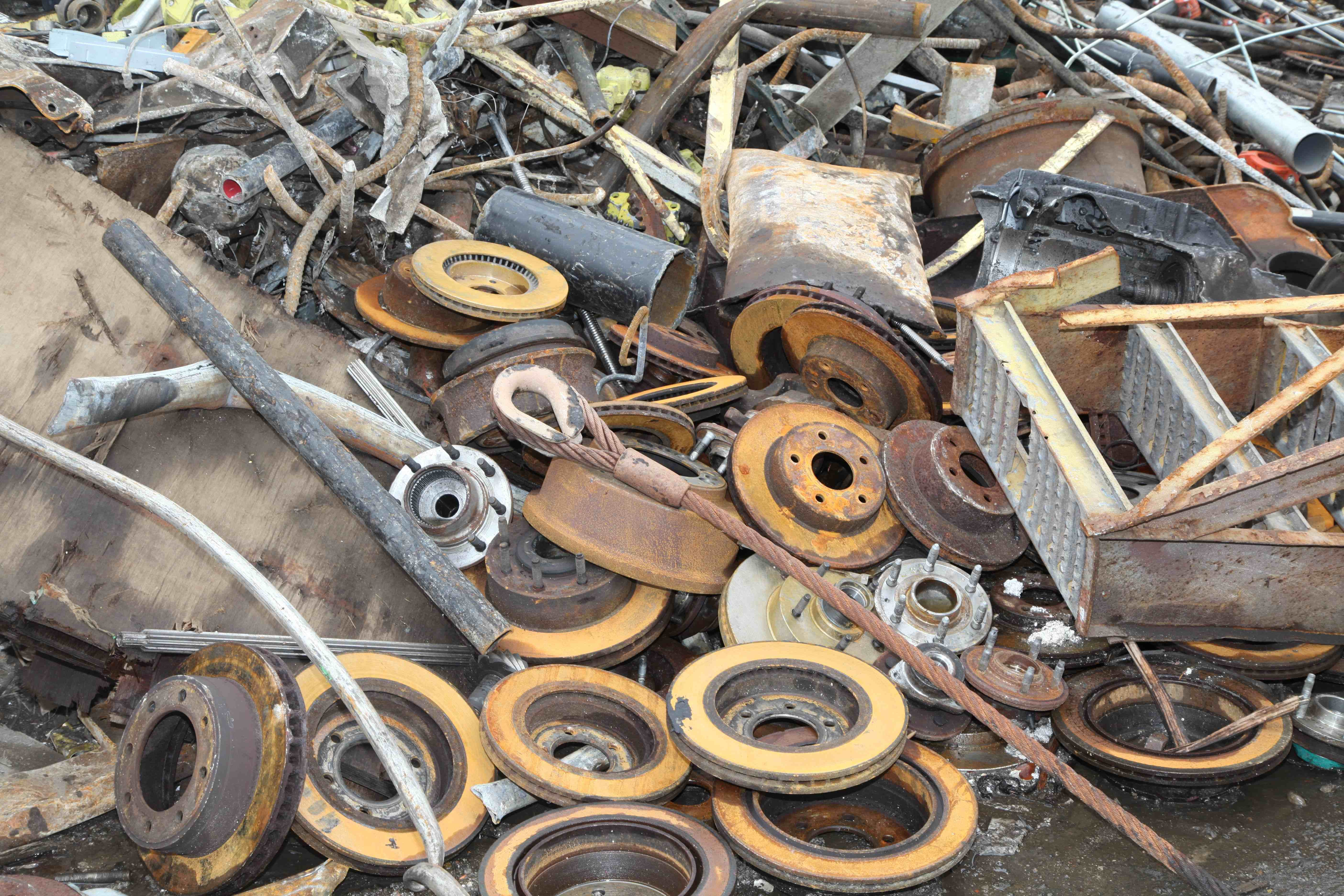 SCRAP IRON AND STEEL