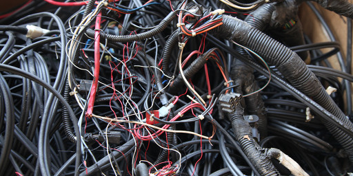 auto wire harness recycling at owl metals inc 410 282 0068