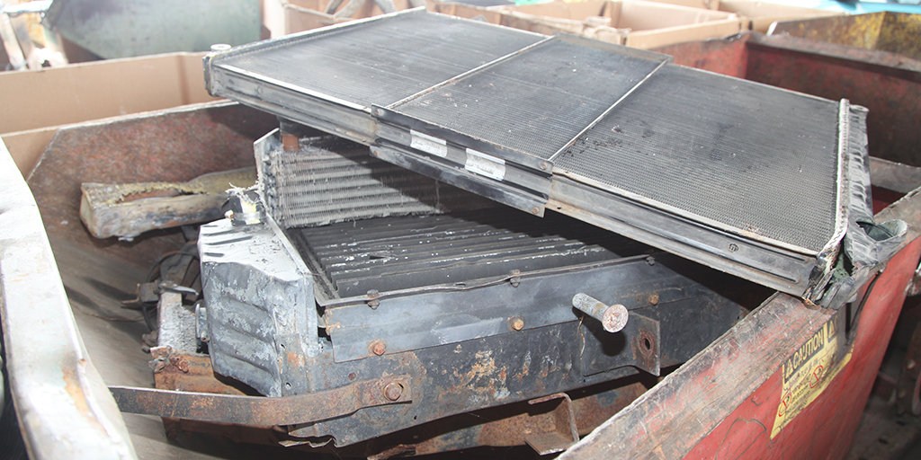 Scrap Radiator Prices Bring your Dirty Auto Radiators to Owl Metals Inc for the best Scrap Radiator Prices in Baltimore MD Dundalk MD Towson MD Glen Burnie MD Essex MD Timonium MD Columbia MD 410-282-0068